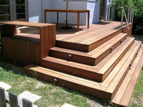 Deck Box Stairs Designs