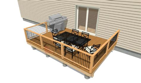 Deck Designs And Plans 16x12