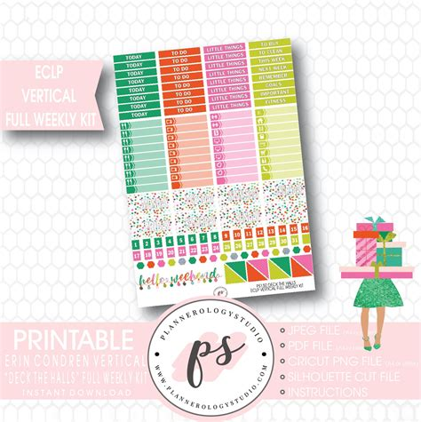 Deck Designs Planner Stickers