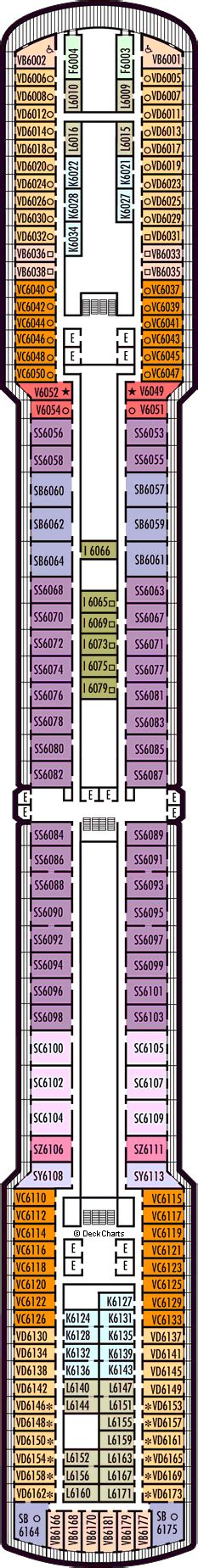 Deck Plans For The Holland America Amsterdam Ship