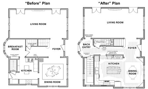 Deck Plans With Stairs In Center