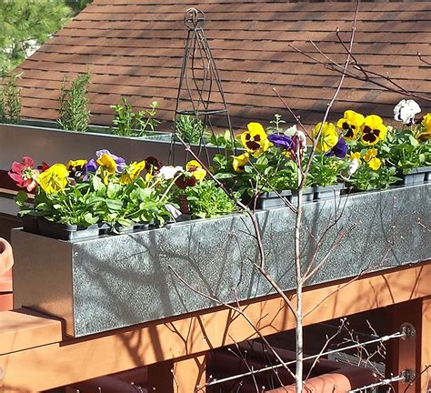 Deck Railing Planters Set Of 2