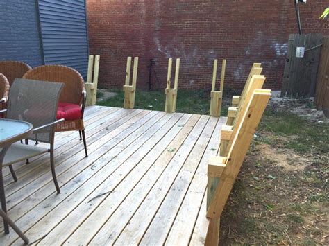 Deck Storage Bench With Back Plans