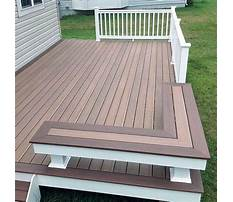 Best Deck bench plans