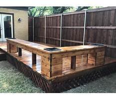 Best Deck bench planter.aspx