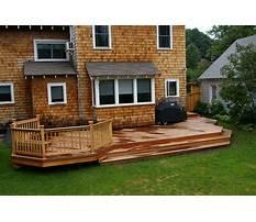 Best Deck designs lowes