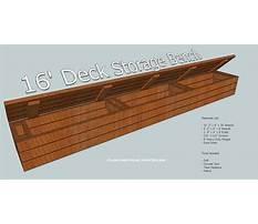 Best Deck storage bench plans.aspx