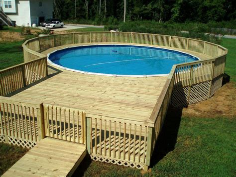 Decks Plans For Above Ground Pools