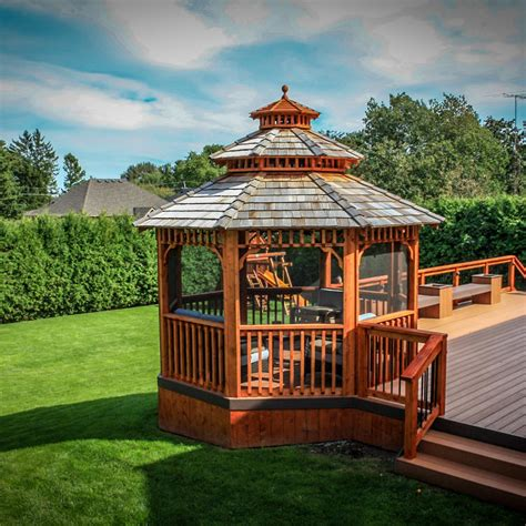 Decks With Gazebos Plans