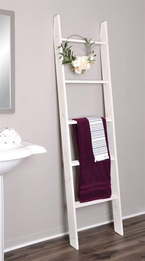 Decorative Ladder For Blankets