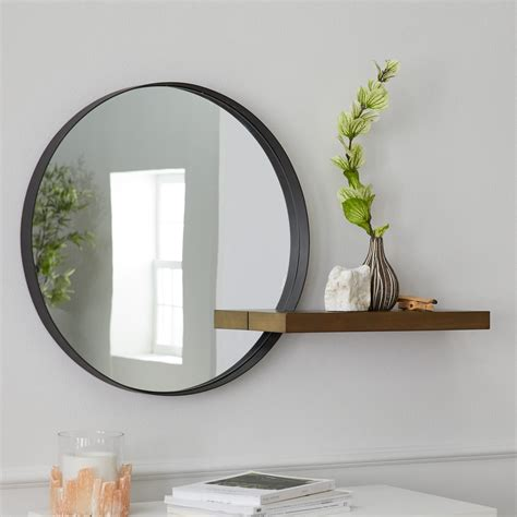 Decorative Mirror With Shelf