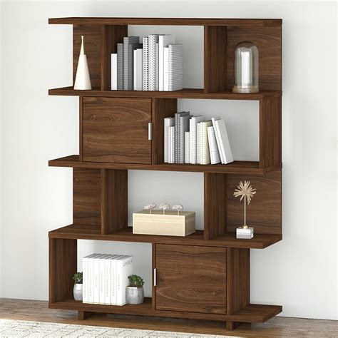 Decorative bookcase with doors Image