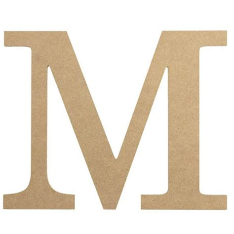 Decorative-M-For-Woodwork