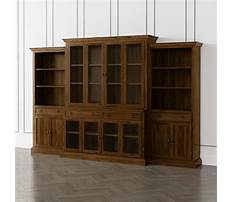 Best Decorative bookcase with doors