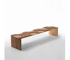 Best Decorative wooden bench
