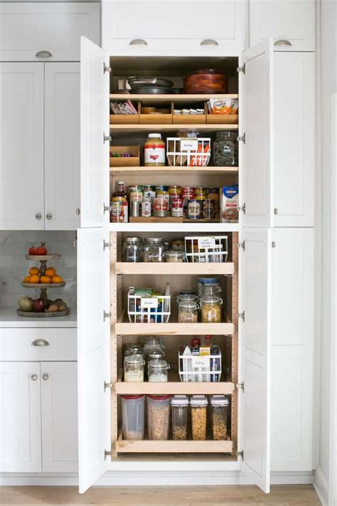 Deep Cabinet Pantry Makeovers