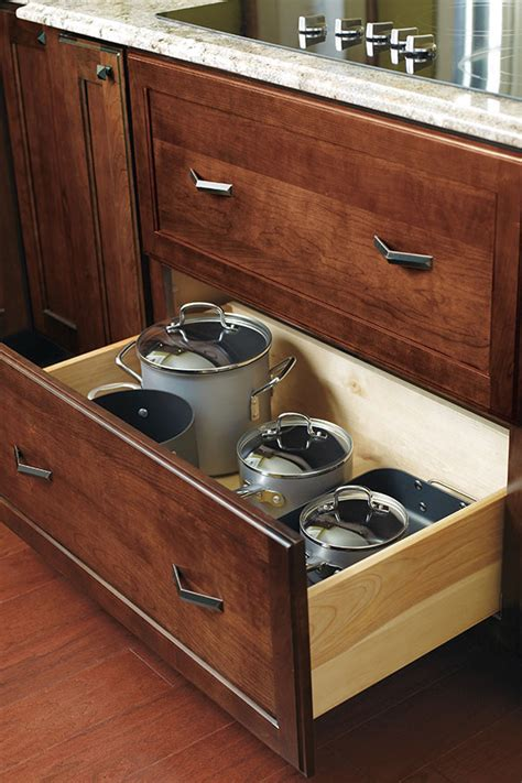 Deep Kitchen Cabinet Drawers