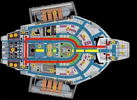 Deep Space Nine Deck Plans