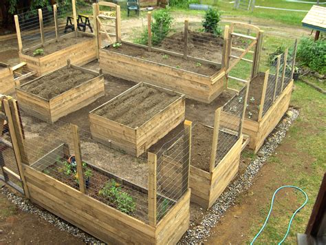 Deer Proof Raised Bed Garden Diy Gravel