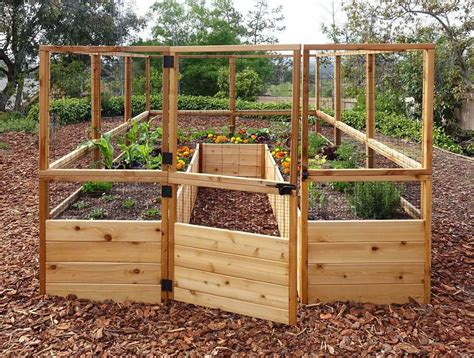 Deer Proof Raised Bed Garden Diy Projects