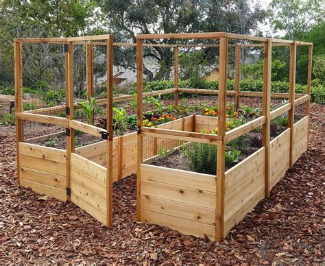 Deer Proof Raised Bed Garden Diy Repurposing