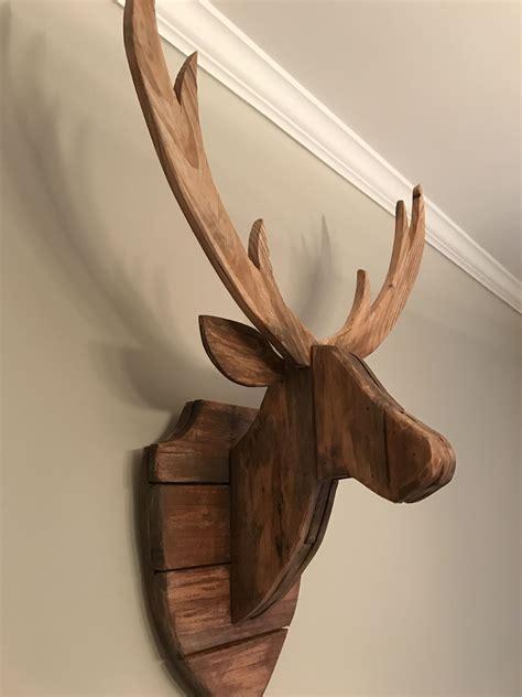 Deer-Head-Wood-Working-Projects