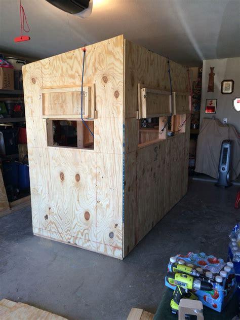 Deer-Hunting-Hut-Plans