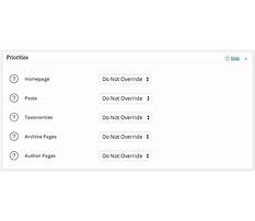 Best Default priority sitemap xml
