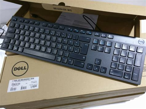 Dell Keyboard (GERMAN) USB KB212B, Y74NK (USB KB212B)