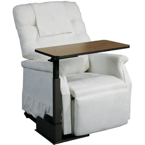 Deluxe Seat Lift Chair Overbed Table