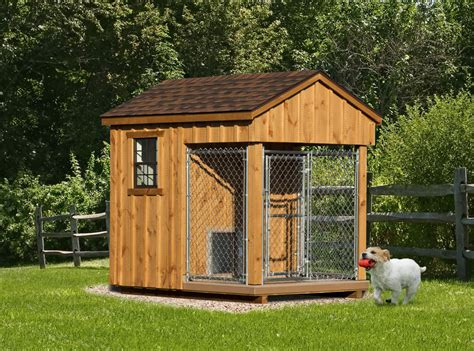 Deluxe-Dog-Kennel-And-Run-Plans