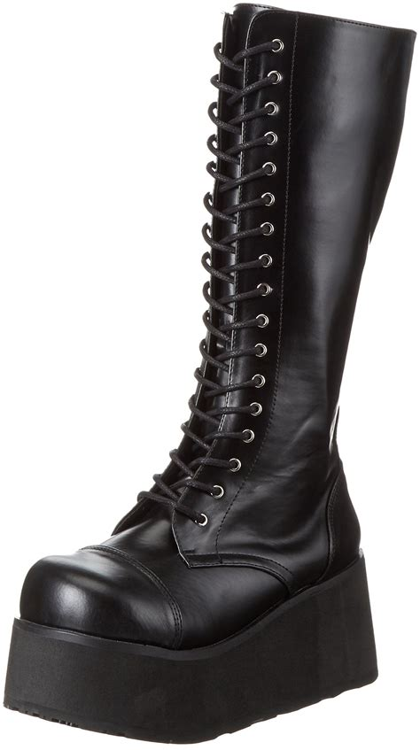 Demonia by Pleaser Men's Trashville-502 Lace-Up Boot