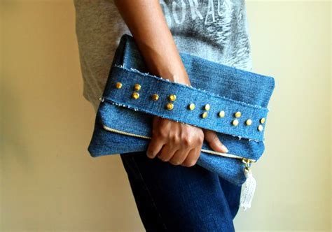 Denim Diy Clutch Purses
