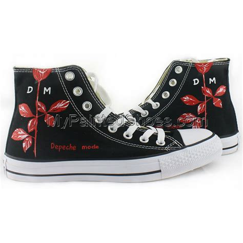 Depeche Mode Converse Sneakers