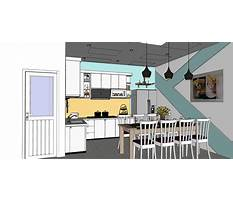 Best Design kitchen cabinets with sketchup