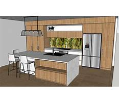 Best Designing kitchen cabinets with sketchup