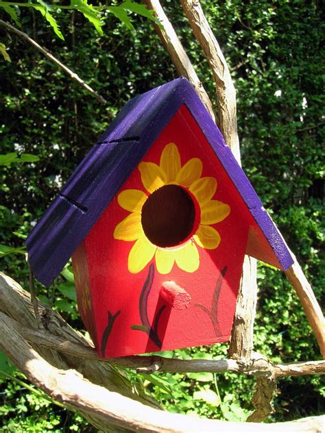 Designs For Painting Birdhouses