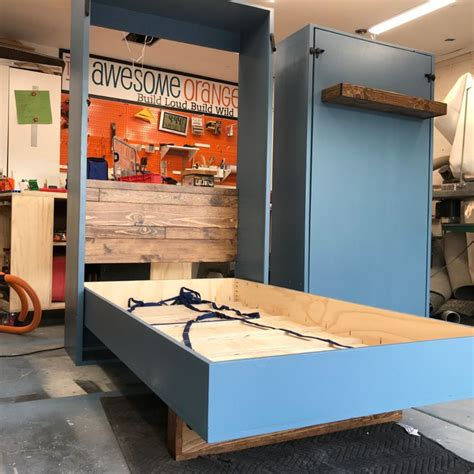 Desk Murphy Bed Diy Pivot