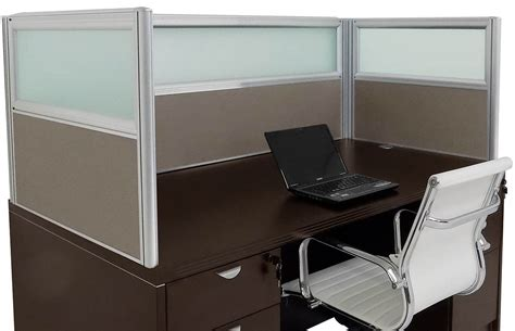 Desk Privacy Panel With Counter