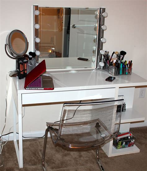 Desk To Vanity Diy Ideas