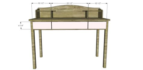 Desk-Hutch-Woodworking-Plans
