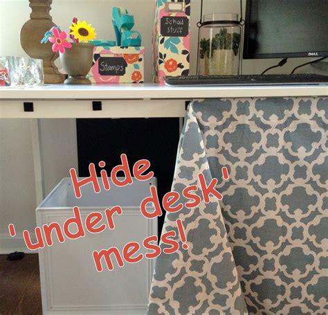 Desk-Skirt-Diy