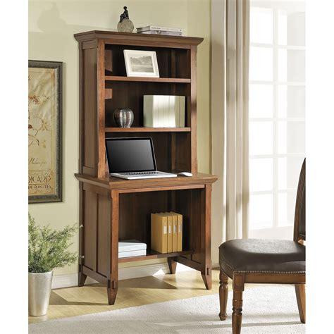 Desk-With-Bookcase-Hutch