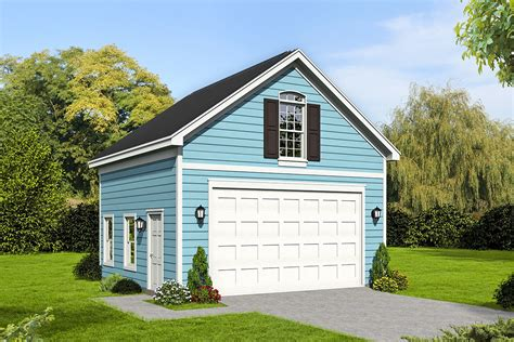 Detached 2 Car Garage With Loft Plans