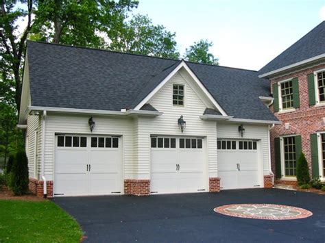 Detached Colonial Garage Plans
