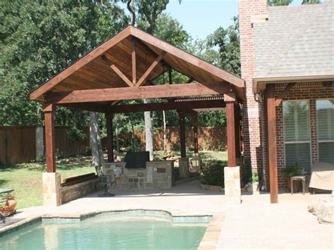 Detached Patio Plans