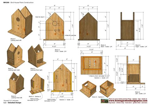 Detailed-Bird-House-Plans