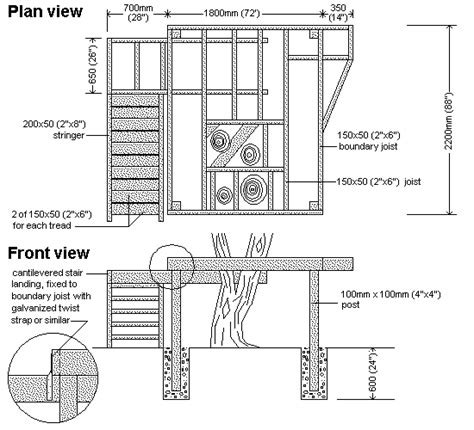 Detailed-Tree-House-Plans