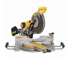 Best Dewalt sliding miter