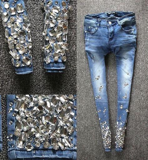 Diamond Jeans Pant